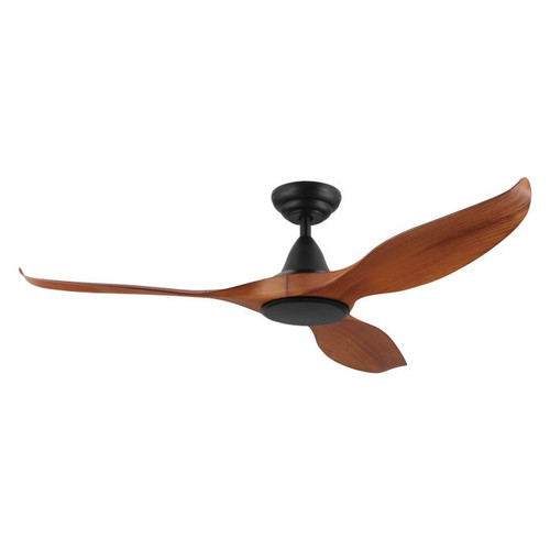 "Noosa 52"" DC ABS Ceiling Fan - Teak and Black"