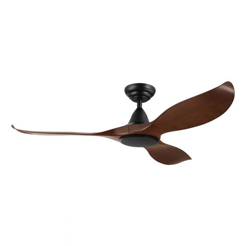 "Noosa 52"" DC ABS Ceiling Fan - Aged Elm and Black"