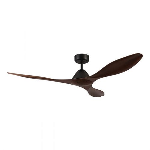 "Nevis 52"" DC Ceiling Fan - Aged Elm and Black"