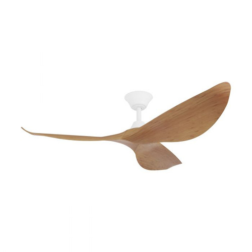 "Cabarita 50"" DC Ceiling Fan - Bamboo and Matt White"