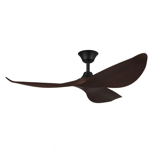 "Cabarita 50"" DC Ceiling Fan - Koa and Matt Black"