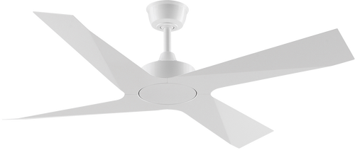 "Modn 4 Blade 52"" 132cm Ceiling Fan - White"