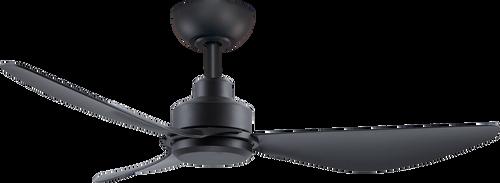 "Trinity 48"" 122cm Ceiling Fan - Black"