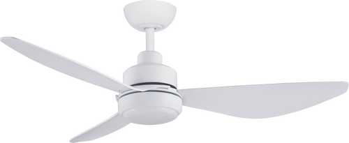 "Trinity 48"" 122cm Ceiling Fan with LED Light - White"