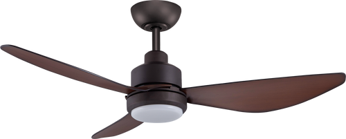 """Trinity 48"""" 122cm Ceiling Fan with LED Light - Oil Rubbed Bronze"""