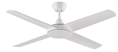"Aspire 4 Blade 52"" 132cm Ceiling Fan - White"