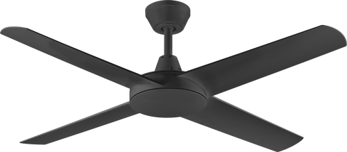 "Aspire 4 Blade 52"" 132cm Ceiling Fan - Black"