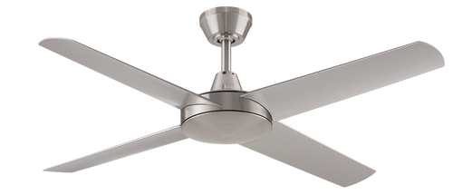 "Aspire 4 Blade 52"" 132cm Ceiling Fan - Brushed Nickel"