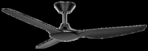 """Delta 56"""" 142cm Ceiling Fan - Black"""