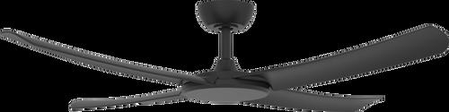 """FlatJET 56"""" 142cm Ceiling Fan - Black"""