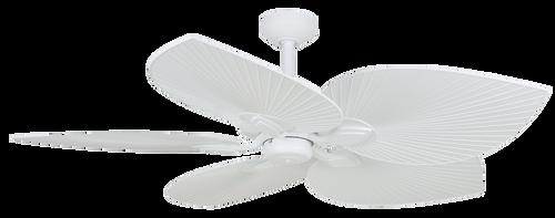 """Tropicana 54"""" Ceiling Fan - Matt White"""