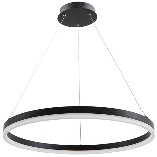 Dijon Ring LED Pendant Light - Black