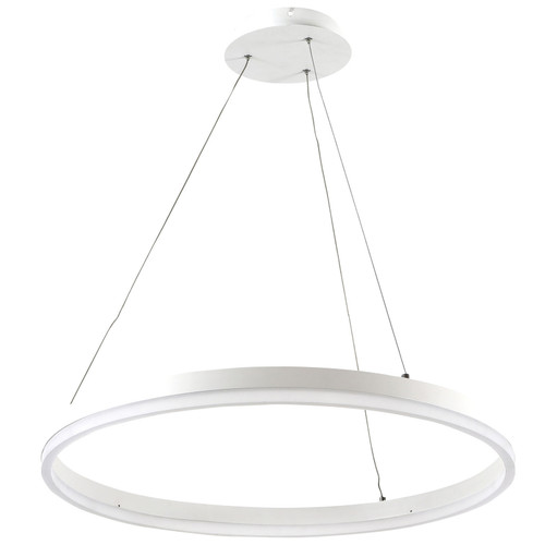 Dijon Ring LED Pendant Light - White