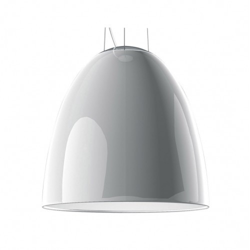 Replica Artimide Nur Gloss White Pendant Light - Medium