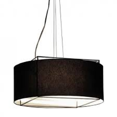 Replica Metalarte Lewit Drum Pendant Light - Black