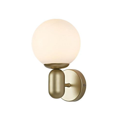 Avignon Gold Opal White Wall Sconce