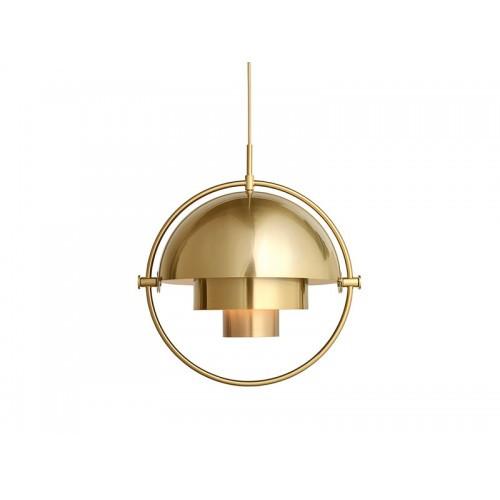 Replica Multi-Lite Gold Pendant Light