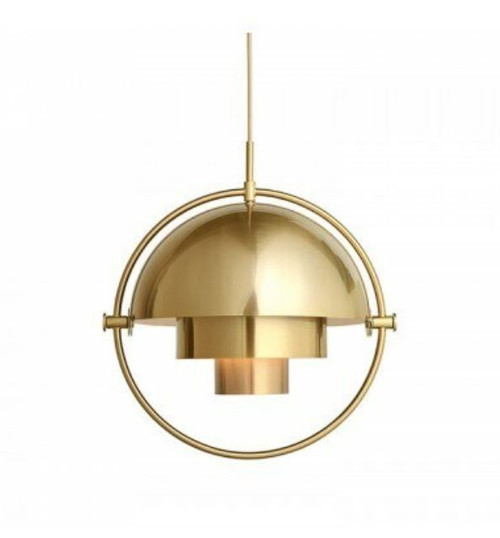 Replica Multi-Lite Gold Pendant Light