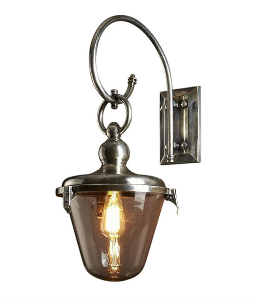 Leroy Glass Shade Outdoor Entry Wall Light