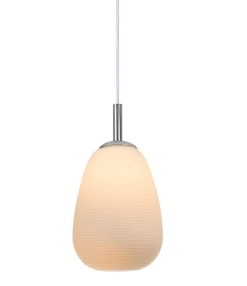 Briella Oval Glass Pendant Light