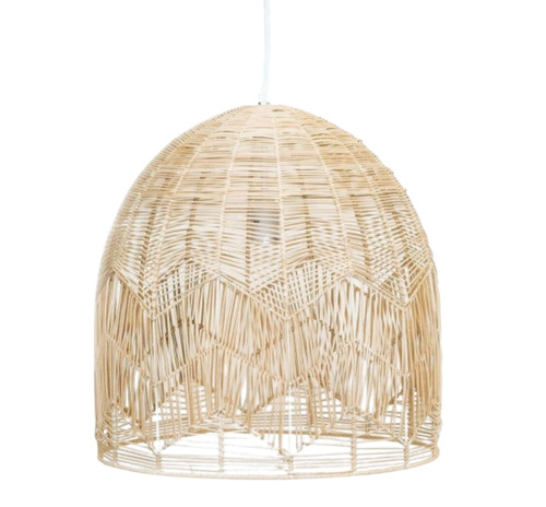 Alfie Bell Natural Rattan Pendant Light