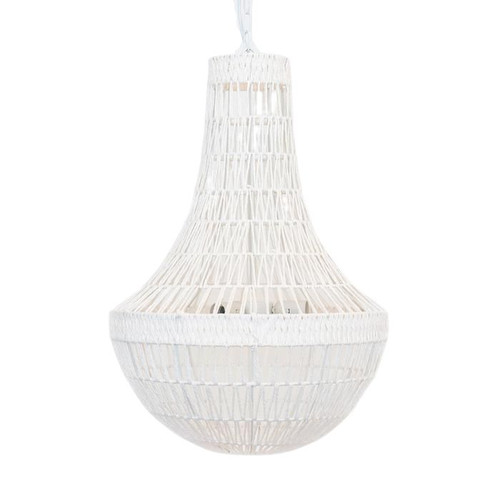Connor Hampton White Rope Pendant Chandelier