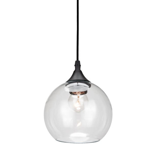 Percy Round Glass Pendant Light