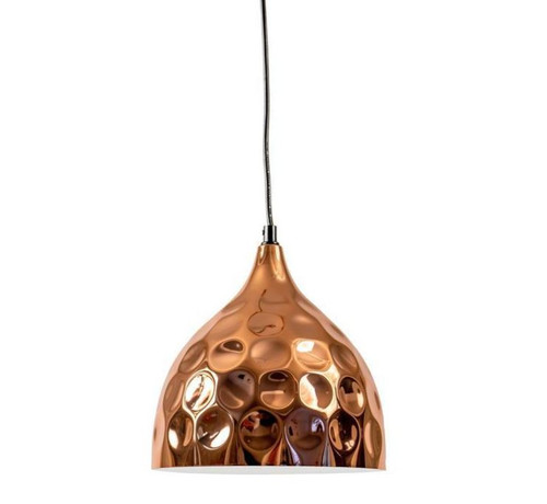 Clara Bell Hammered Copper Pendant Light