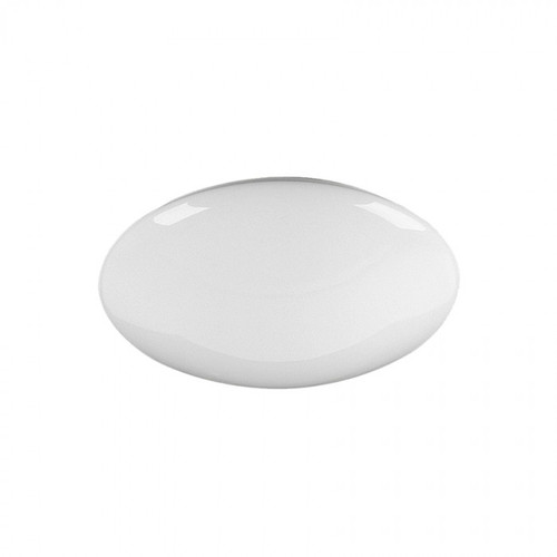 Circular Fluorescent Opal Lens Ceiling Light