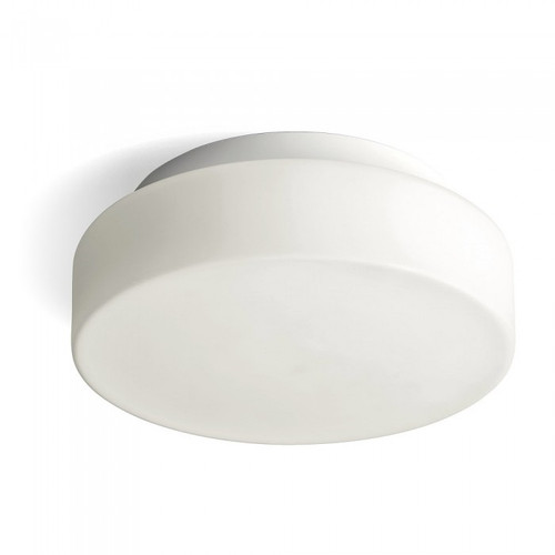 Herner Round White LED Close To Ceiling Light- Small