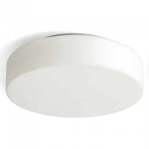 Herner Round White LED Close To Ceiling Light- Large