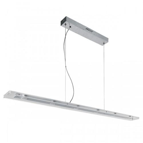 Strip Suspended 6 Light Linear LED Pendant Light