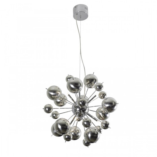 Galaxy Chrome Multi Light Pendant Light