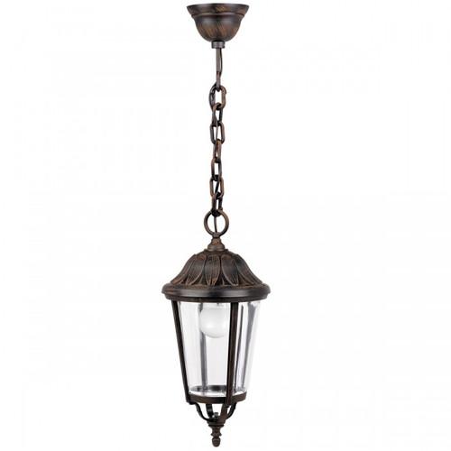 Lucca Bronze Lantern Pendant Light