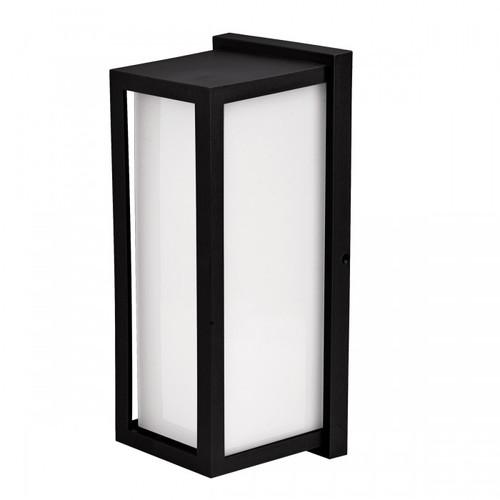 Duralite LED Zen Bulkhead Vertical Eyelid Outdoor Wall Light - Black