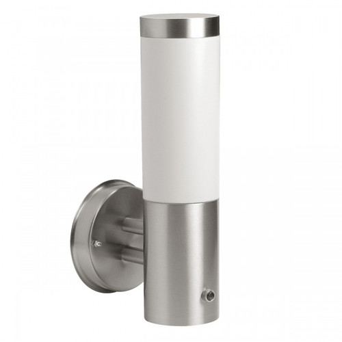 Dusk Silver Stainless Steel Indoor Wall Light