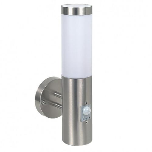 Dusk Silver Stainless Steel Sensor Indoor Wall Light