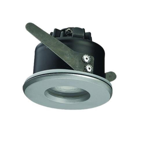 Waterproof 6.5W LED Recessed Downlight - Silver