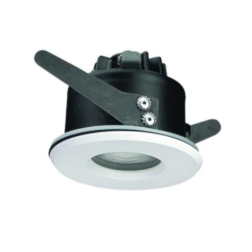 Waterproof 6.5W LED Recessed Downlight - White