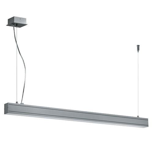 Linear Suspension Mount Striplight Pendant Light - Grey