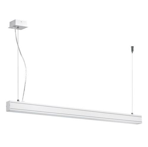 Linear Suspension Mount Striplight Pendant Light - White