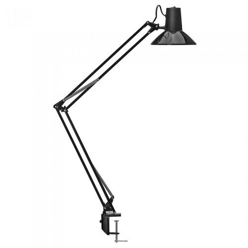 Equipoise Black Adjustable Clamp Task Lamp