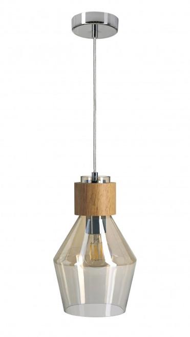 Nojord Bell Rustic Pendant Light