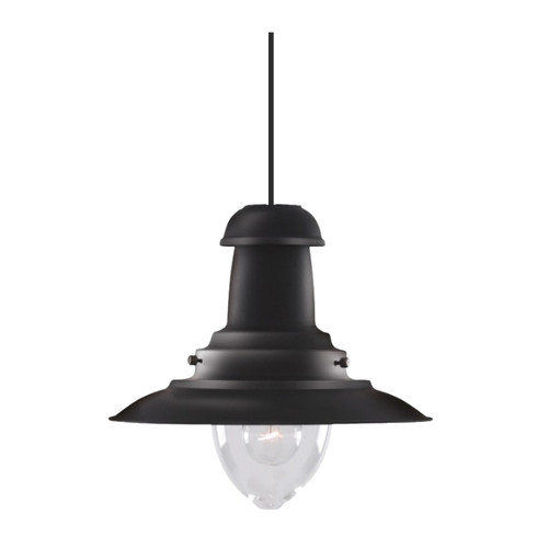 Fisherman Black Large Pendant Light