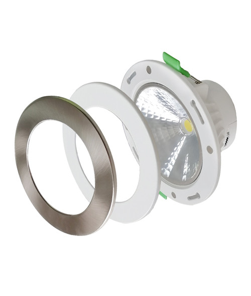 Newport 3CCT Dimmable with Magnetic Changeable Faceplate Recessed Downlight