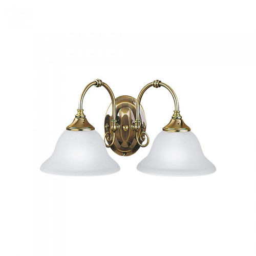 Heritage2 Light Antique Brass Classic Wall Light