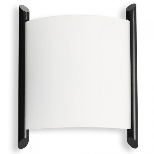 Nordica Glass Black LED Wall Light