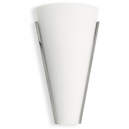 Aldo Cone Glass Chrome LED Wall Light