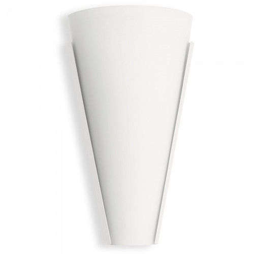 Aldo Cone Glass White LED Wall Light