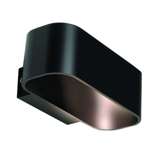 Kolton Black Metal LED Wall Light